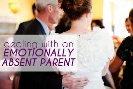emotional distant parent